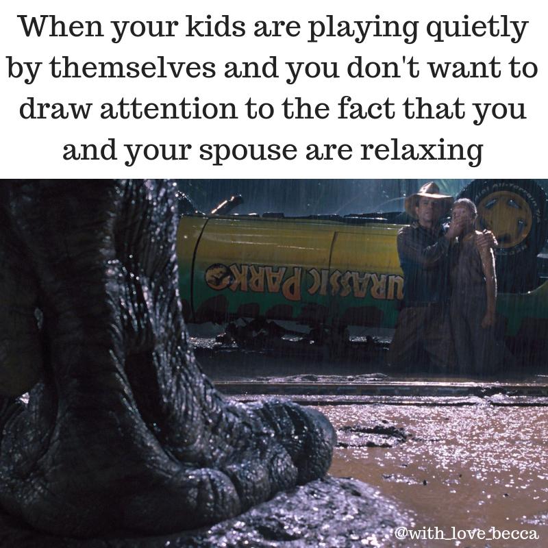 Jurassic Park Parenting Meme